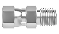 JIC swivel nut male connector