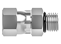 JIC swivel nut SAE male connector