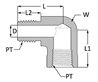 Female Pipe Elbow
