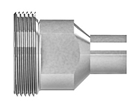 ORFS male pipe weld threaded piece - HP