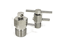 Bleed valves with options
