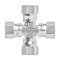 JIC swivel nut cross