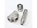 10K Stainless steel pipe fitting, Tee fitting, reducing adapter and hex long nipple pipe fittings.